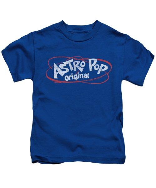 Astro Pop - Vintage Logo Kids T-Shirt