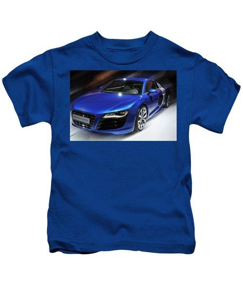 Audi R8 V10 Fsi Kids T-Shirt