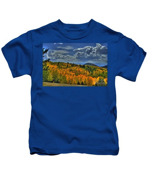 Autumn In Colorado Kids T-Shirt