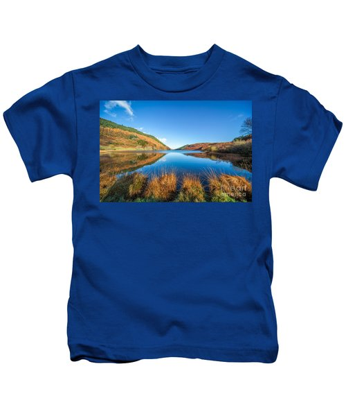 Autumn Lake Kids T-Shirt
