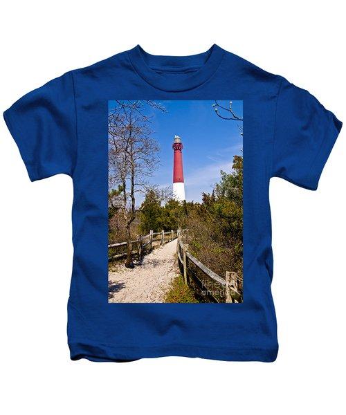 Barnegat Lighthouse II Kids T-Shirt