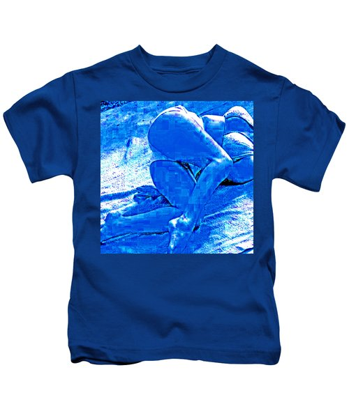 Bathing In Blu Light Kids T-Shirt