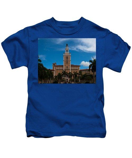 Biltmore Hotel Coral Gables Kids T-Shirt