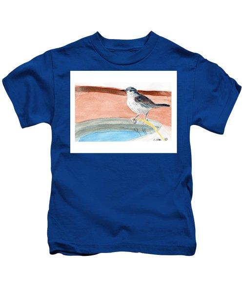 Bird Bath Kids T-Shirt