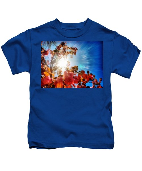 Blooming Sunlight Kids T-Shirt
