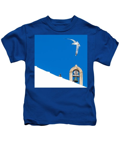 Blue Gull Kids T-Shirt