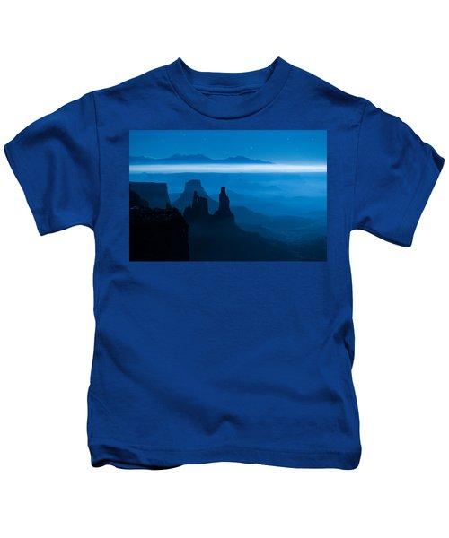 Blue Moon Mesa Kids T-Shirt