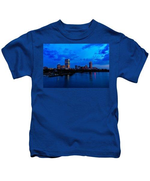Boston Evening Kids T-Shirt