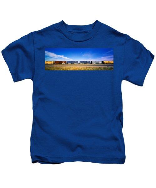 Boxcars Railroad Ca Kids T-Shirt