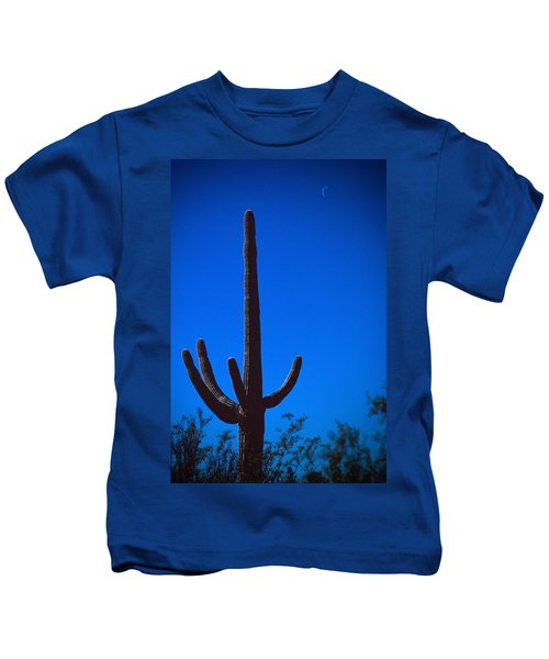 Cactus And Moon Kids T-Shirt