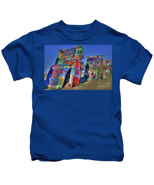 Cadillac Ranch Kids T-Shirt