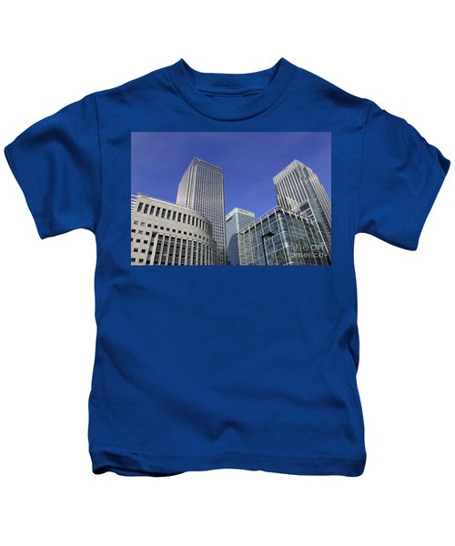 Canary Wharf London Kids T-Shirt