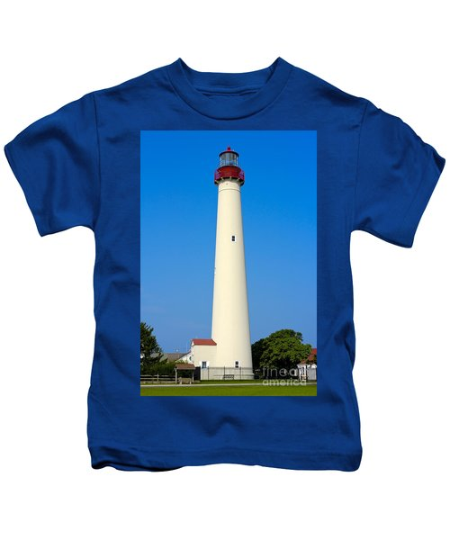 Cape May Lighthouse Kids T-Shirt