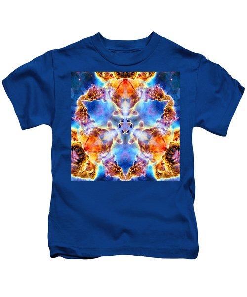 Carina Nebula Vi Kids T-Shirt