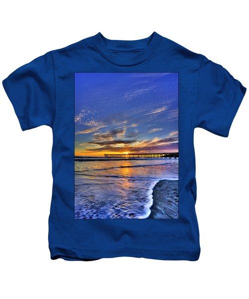 Cayucos Sunset Kids T-Shirt