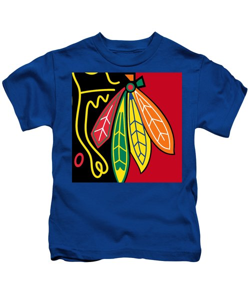 Chicago Blackhawks 2 Kids T-Shirt