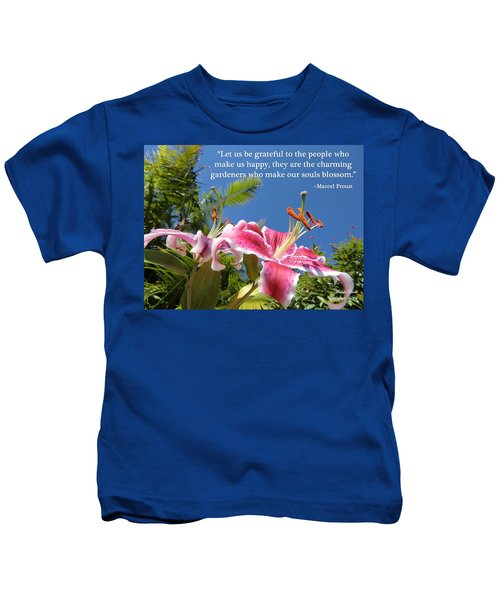 Choose Your Quote Choose Your Picture 17 Kids T-Shirt