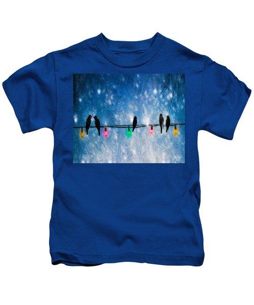 Christmas Lights Kids T-Shirt