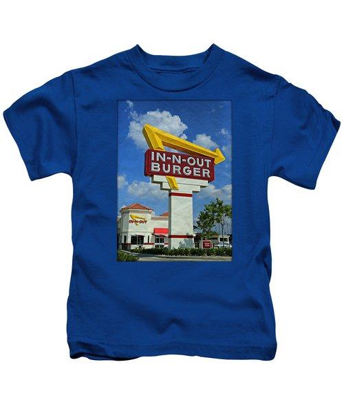 Classic Cali Burger 1.1 Kids T-Shirt