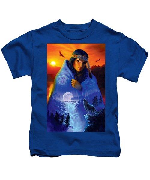 Cloak Of Visions Portrait Kids T-Shirt