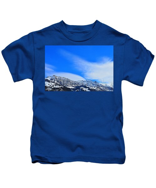 Clouds Wing Kids T-Shirt