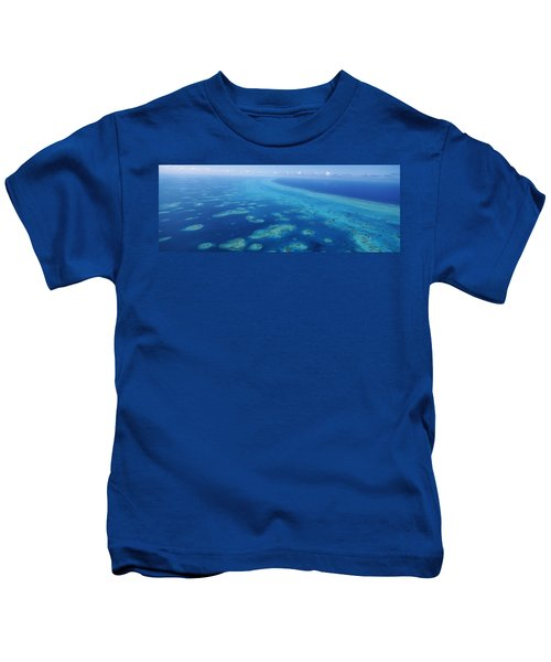 Coral Reef In The Sea, Belize Barrier Kids T-Shirt