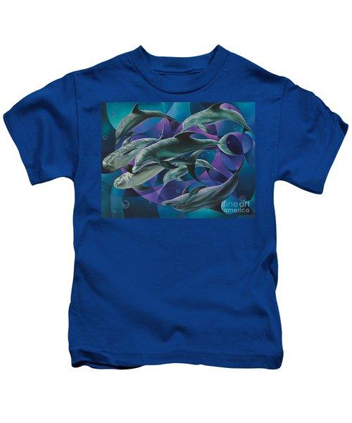 Corazon Del Mar  Kids T-Shirt