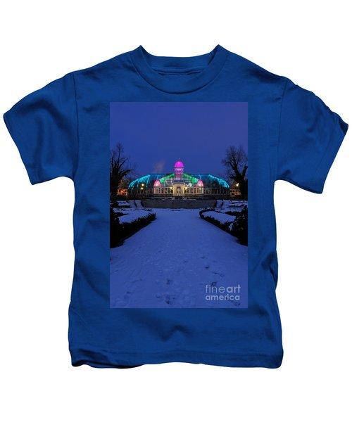 D5l287 Franklin Park Conservatory Photo Kids T-Shirt