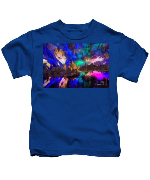 Dancing In The Moon Light Kids T-Shirt