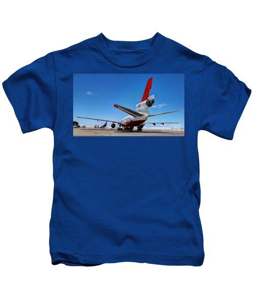Dc-10 Air Tanker  Kids T-Shirt