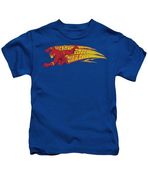 Dc - Fastest Man Alive Kids T-Shirt
