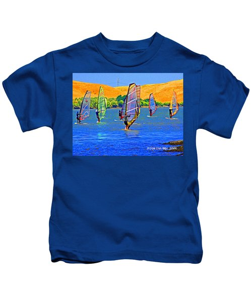 Delta Water Wings Kids T-Shirt