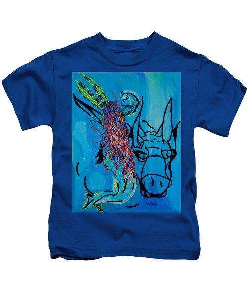 Dinka Groom - South Sudan Kids T-Shirt