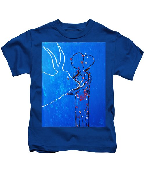 Dinka Livelihood - South Sudan Kids T-Shirt