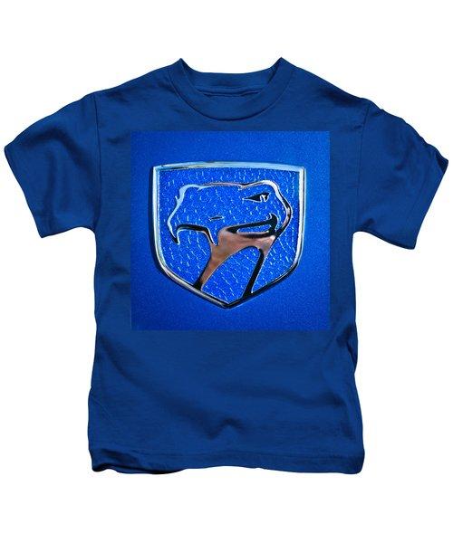 Dodge Viper Emblem -217c Kids T-Shirt