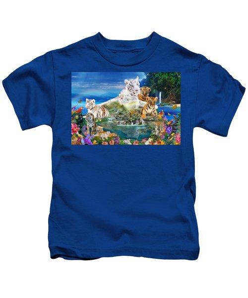 Dreaming Of Tigers  Variation  Kids T-Shirt
