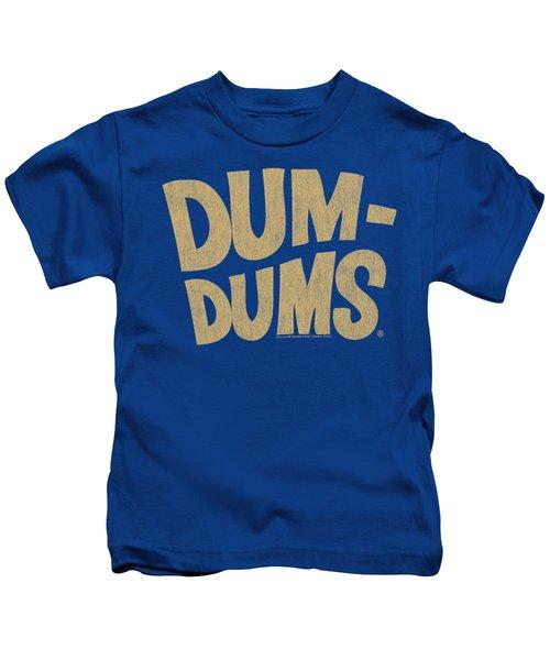 Dum Dums - Distressed Logo Kids T-Shirt