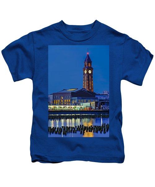 Erie Lackawanna Terminal Hoboken Kids T-Shirt