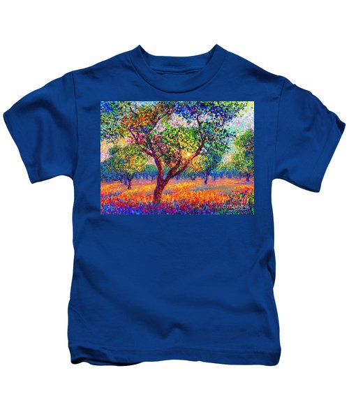 Evening Poppies Kids T-Shirt