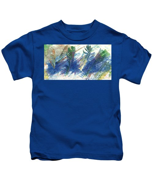 Feather Dance Kids T-Shirt