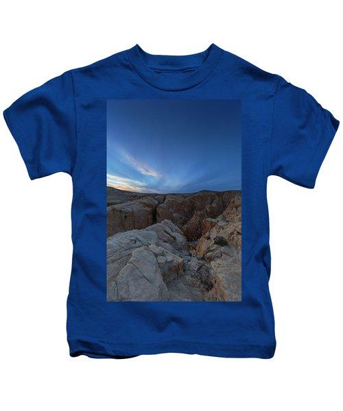 Fire Canyon Afterglow Kids T-Shirt