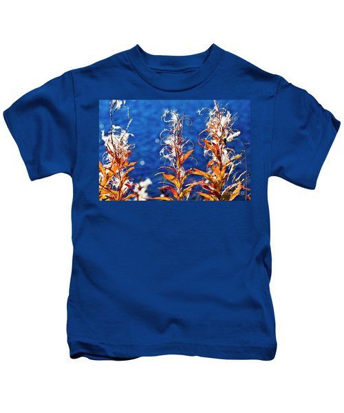 Fireweed Flower Kids T-Shirt