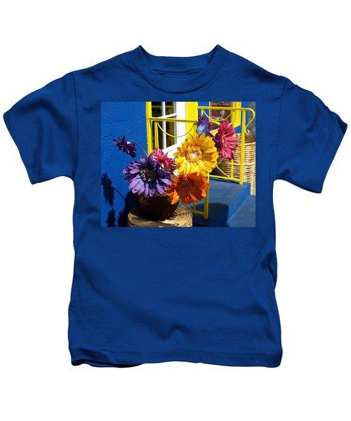 Flores Colores Kids T-Shirt
