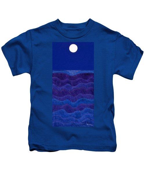 Full Moonscape II Kids T-Shirt