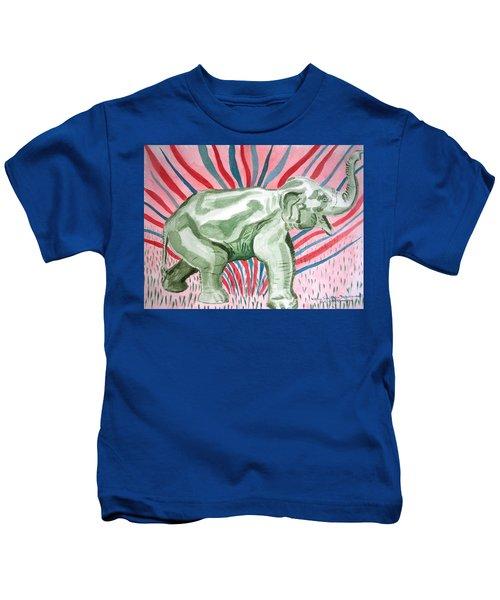 Gleeful Elephant Kids T-Shirt