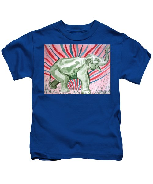 Gleeful Elephant Kids T-Shirt