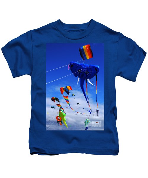 Go Fly A Kite 5 Kids T-Shirt