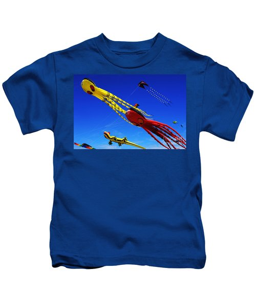 Go Fly A Kite 7 Kids T-Shirt