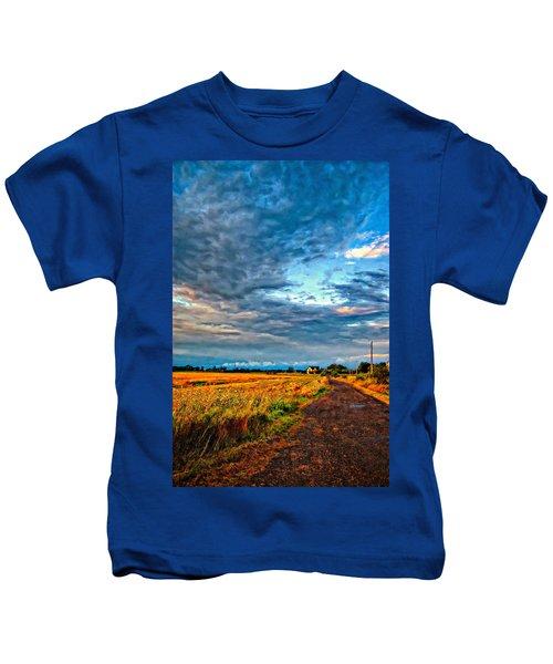 Goin' Home Oil Kids T-Shirt