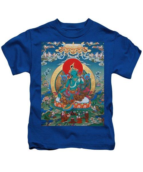 Green Tara Kids T-Shirt